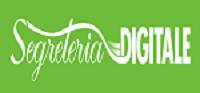 scritta in bianco su verde segreteria digitale